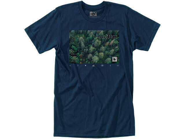 Hippy Tree Forestry Camiseta Hombre, navy